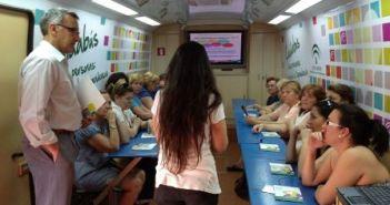 El Cuidabús en Bonares.