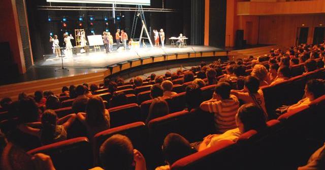 Muestra de teatro en Lepe.