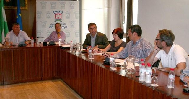 Los alcaldes se han reunido en Cartaya.