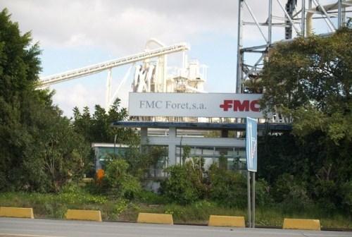 Instalaciones de la empresa Foret, cerrada en la avenida Montenegro.