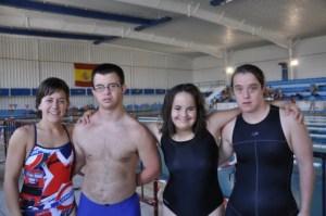 Nadadores del Club Natación CODA.