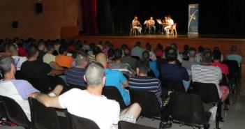 Actuación del Conservatorio de Música en la Cárcel de Huelva.