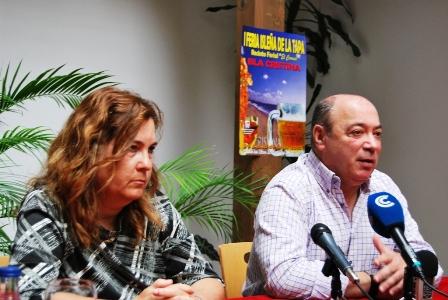 Presentación de la Feria de la Tapa en Isla Cristina.