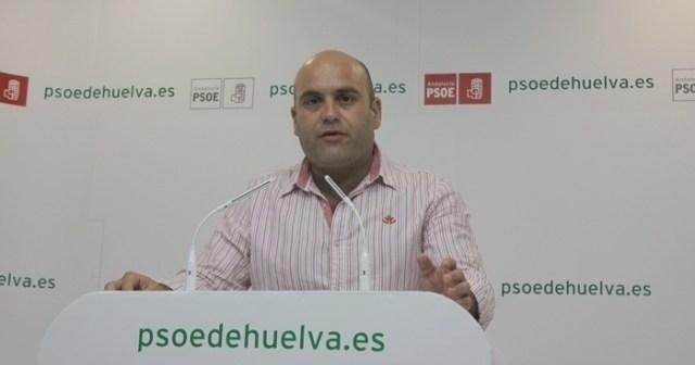 El portavoz del PSOE en Cartaya, Alexis Landero.
