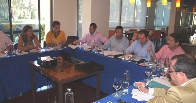 Reunión del PP.