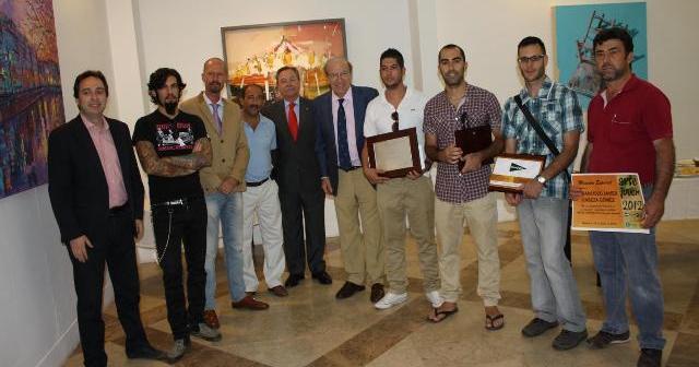 Entrega de los premios Arte Joven.