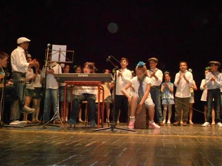 Acto en el IES San José de Cortegana.
