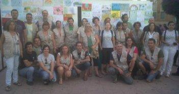 Participantes en la actividad en Bonares.