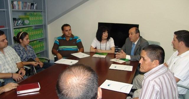 Reunión del proyecto Trifinio.
