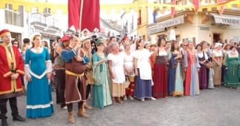 Cortegana vibra con las Jornadas Medievales.