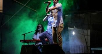 Actuación de Aslándticos en Aracena. (José Carlos Sánchez)