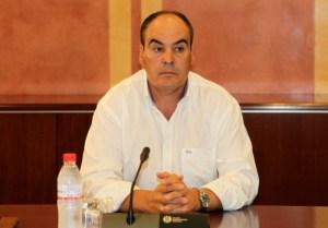 Juan Márquez cuando acudió a declarar a la comisión de investigación del Parlamento de Andalucía.