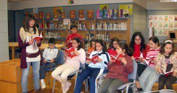 Club de lectura en Cartaya.