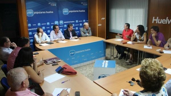 Reunión del Consejo de Alcaldes del PP.