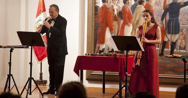 Dúo de solistas de La Folía, que actuará dentro de Siglos de Música en el Santuario de la Cinta