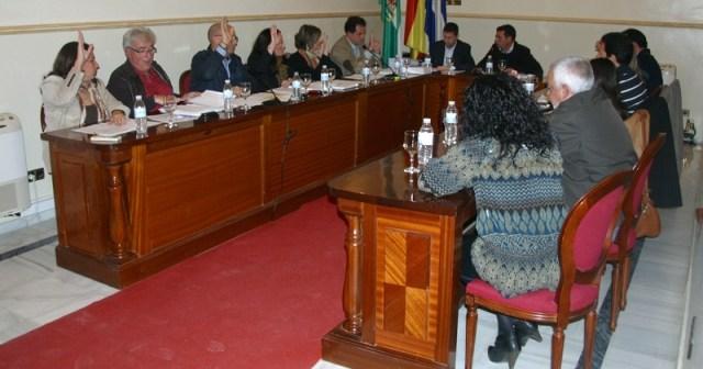 Pleno de noviembre de San Juan del Puerto.