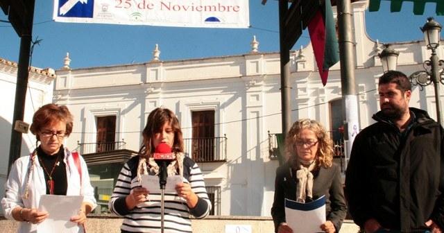 Acto del Día de la Mujer en Cartaya.
