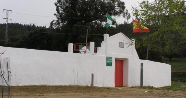 Plaza de toros de Campofrío.