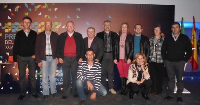 Entrega de los Premios Arco Iris.