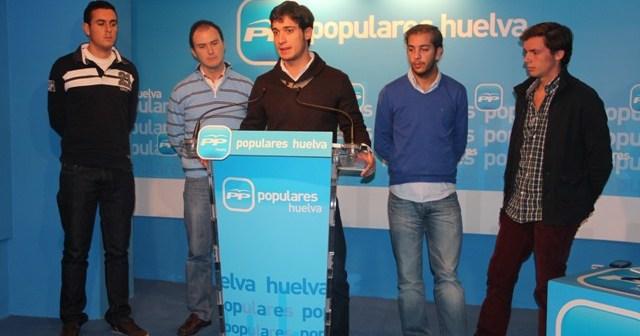 Presentación de la candidatura de NNGG-Huelva.