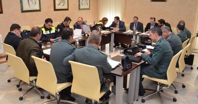 Junta Local de Seguridad celebrada en Almonte.