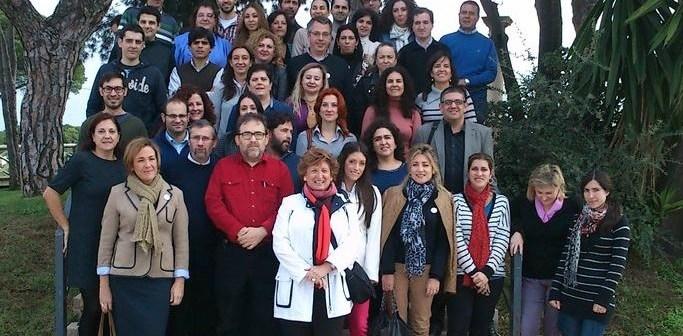Periodistas participantes en el curso sobre herramientas digitales.