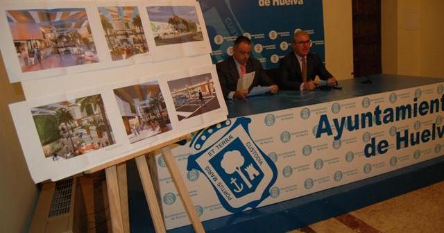 Adame y Moro en la rueda de prensa sobre el proyecto Holea.