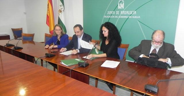 Firma del convenio RELAS con el Ayutamiento de Nerva.
