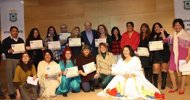 Clausura de la Semana Intercultural.