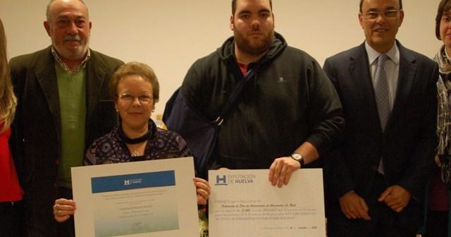 Entrega del premio del Concurso de Proyectos de Asociaciones al proyecto 'Compartiendo ilusiones'.