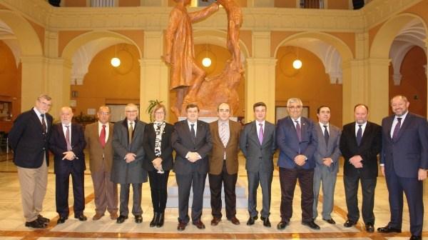 Integrantes del Consejo Andaluz de Universidades.