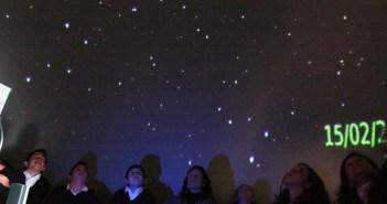 Planetario en Ayamonte.