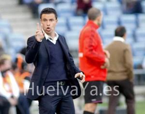 Sergio Lobera, técnico de la UD Las Palmas. (J. Pérez)