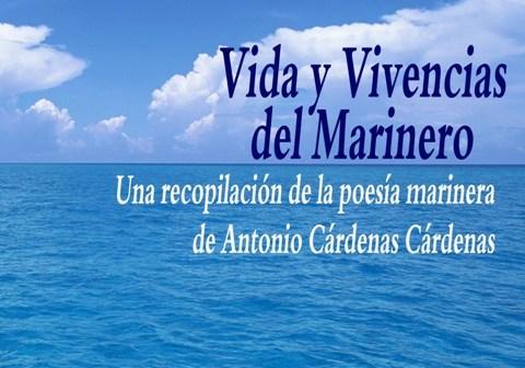 Invitación al acto de presentación del libro de Antonio Cárdenas en Isla Cristina.