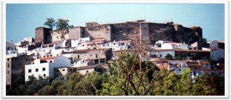 Castillo de Aroche.