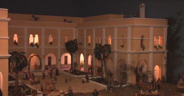 Foto del Belén inaugurado en Ayamonte.