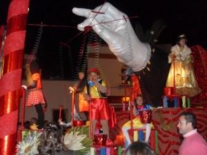 Imagen de archivo de una cabalgata de Reyes en Bollullos del Condado.