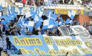 Aficionados del Recreativo de Huelva. (Espínola)