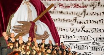Cartel del concierto de la Semana Santa en Minas de Riotinto.