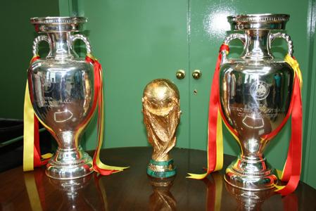 Copa del Mundo y las dos de Europa.