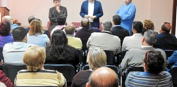 Acto del PSOE este jueves en la capital.