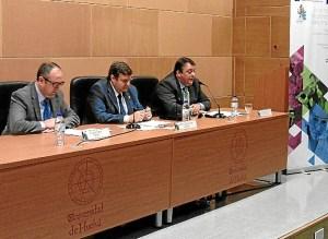 Apertura de las jornadas en la Universidad de Huelva.