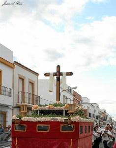 Cruz de Mayo en San Juan del Puerto.