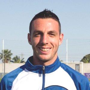Rubén Ramos, portero del Recreativo.
