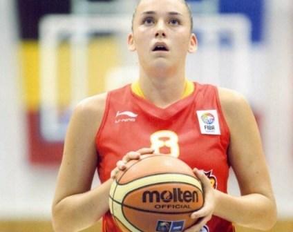 Patricia Soler con la Selección Española.