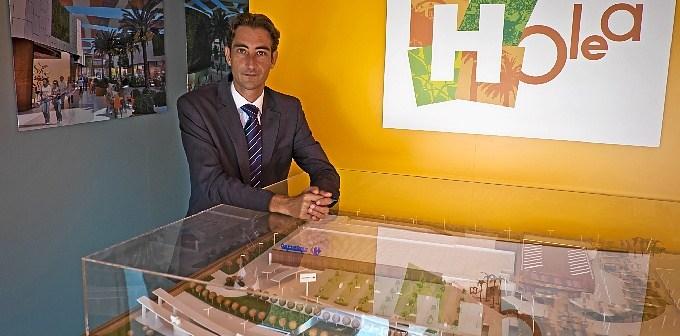 El director de Holea, Óscar Llanes.
