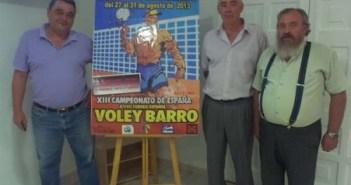 Presentación del Campeonato de España de voley-barro.