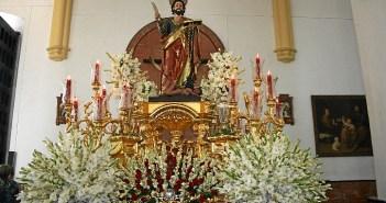 San Bartolomé, patrón de Paterna del Campo.