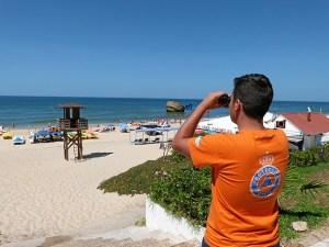 La playa de Matalascañas es la más afectada por la falta de arena, junto a la de Isla Canela.