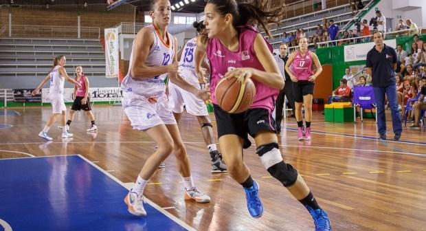 Amaya Gastaminza, ala-pívot del CB Conquero.